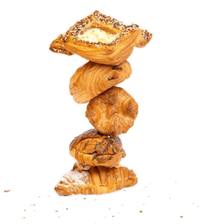 Layered Pastry Stack